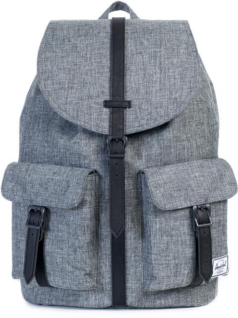 Herschel Dawson Backpack Unisex, raven crosshatch/black